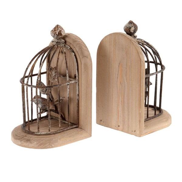 Set 2 zarážiek na knihy Cage
