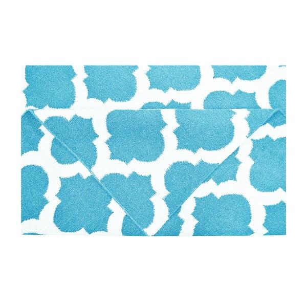 Vlnený koberec Julia Light Blue, 120 x 180 cm
