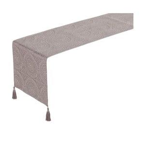 Sivý behúň na stôl Unimasa Loving, 150 x 40 cm
