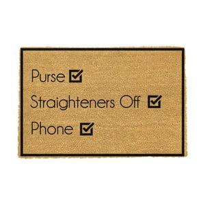 Rohožka Artsy Doormats Purse Straighteners Phone 40 × 60 cm