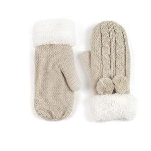 Krémové rukavice Lola