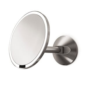 Nástenné kozmetické zrkadielko s osvetlením  simplehuman Litium