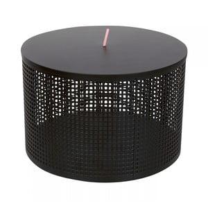 Čierny úložný box OK Design Boite, Ø30 cm