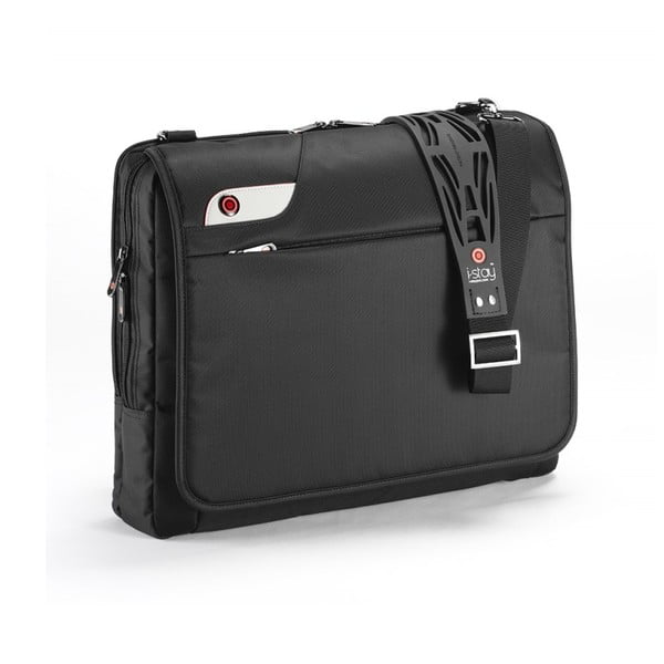 Taška na notebook i-stay Messenger, čierna