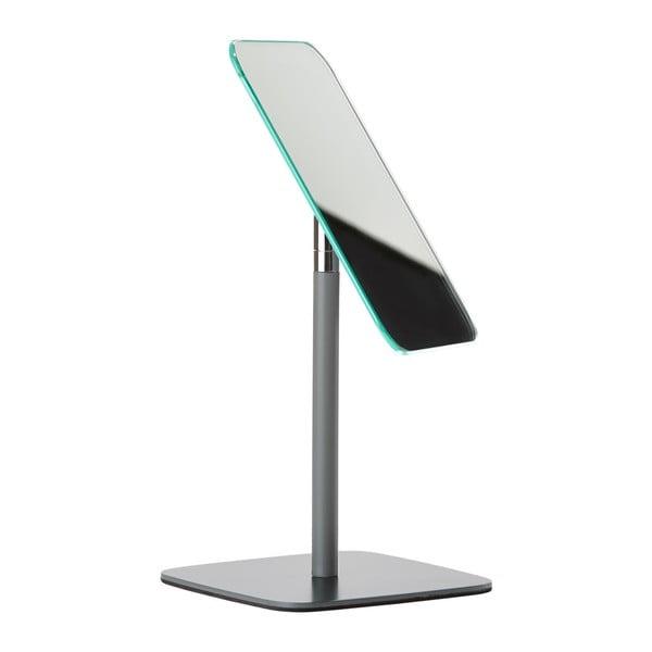 Sivé stolové kozmetické zrkadlo Zone