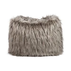 Vak na sedenie Bean Bag Fur Taupe