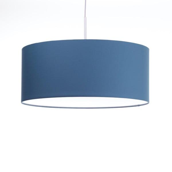 Modré stropné svetlo Artist, variabilná dĺžka, Ø 60 cm