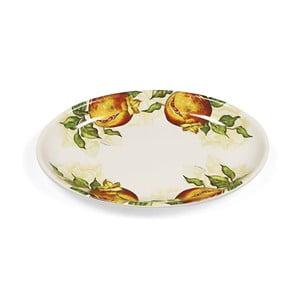 Servírovací tanier Fade Melograno, oválny