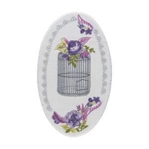 Kúpeľňová predložka Confetti Bathmats Flower Cage, 80×130cm