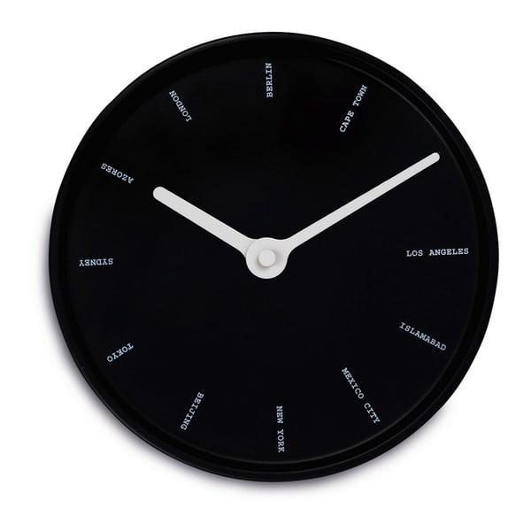 Nástenné hodiny World Time
