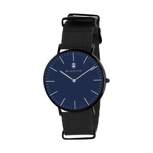 Modro-čierne pánske hodinky Black Oak Parlo
