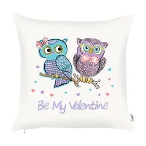 Obliečka na vankúš Apolena Owls, 43 x 43 cm