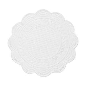 Set 6 bavlnených prestieraní White, 30 cm