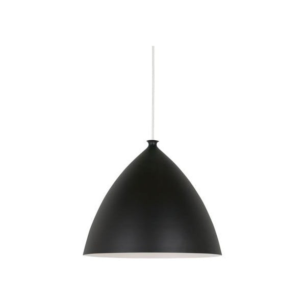 Závesné svietidlo Nordlux Slope 35 cm, biele/čierne