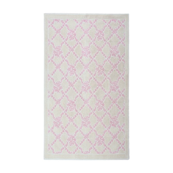 Púdrový bavlnený koberec Floorist Lerato , 100x200cm