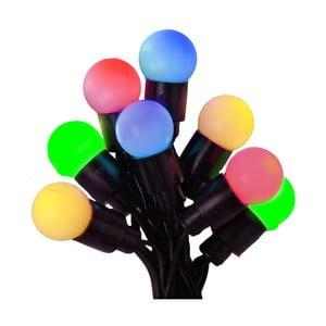 Pestrofarebná svietiaca dekorácia Beads