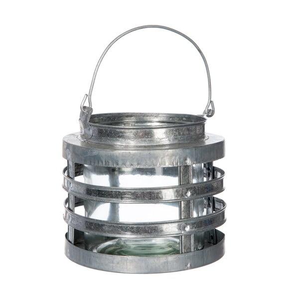 Lampáš Hurricane Silver, 15 cm