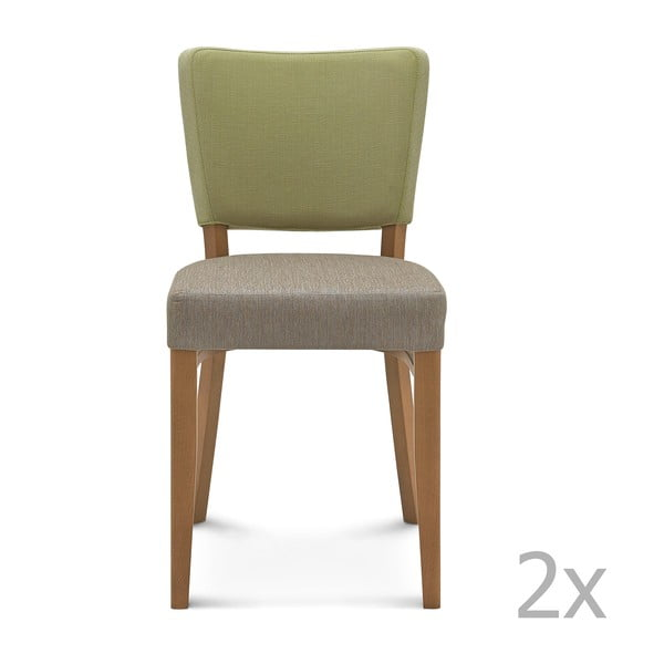 Sada 2 drevených stoličiek Fameg Mia