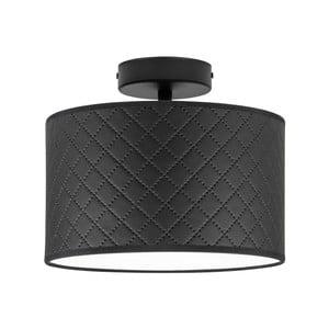 Čierne stropné svietidlo Bulb Attack Trece, ⌀ 25 cm