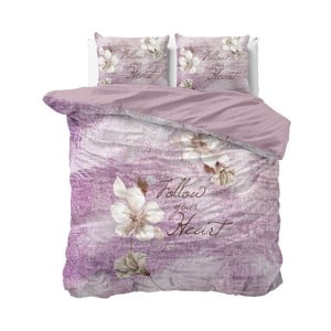 Bavlnené obliečky na dvojlôžko Sleeptime Blossom, 240×220 cm