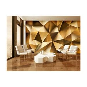Veľkoformátová nástenná tapeta Vavex Golden Poly, 416×254 cm