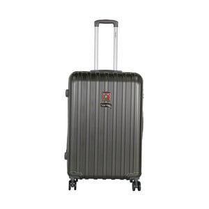 Tmavosivý cestovný kufor LULU CASTAGNETTE Edge, 107 l