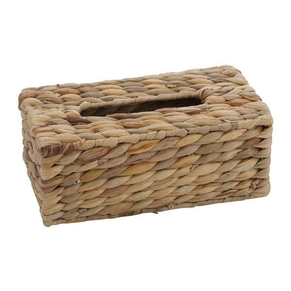 Box na vreckovky Water Brown