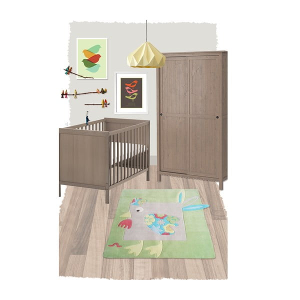 Detský koberec Nattiot Lola,130×130cm