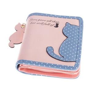 Malá peňaženka Cat, ružová
