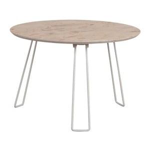 Biely príručný stolík Zuiver Side XXL
