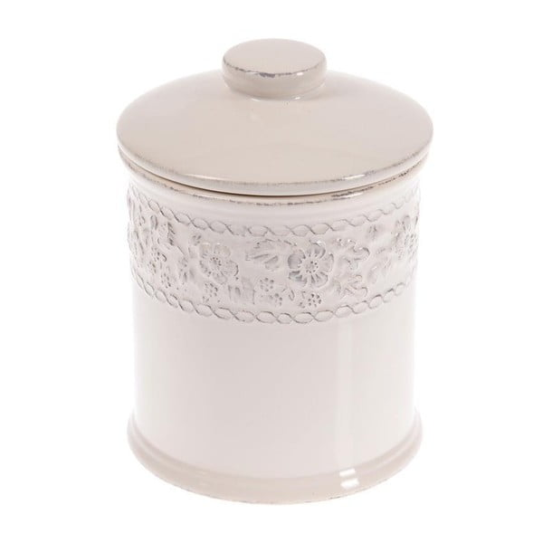 Keramická dóza In White, 20 cm