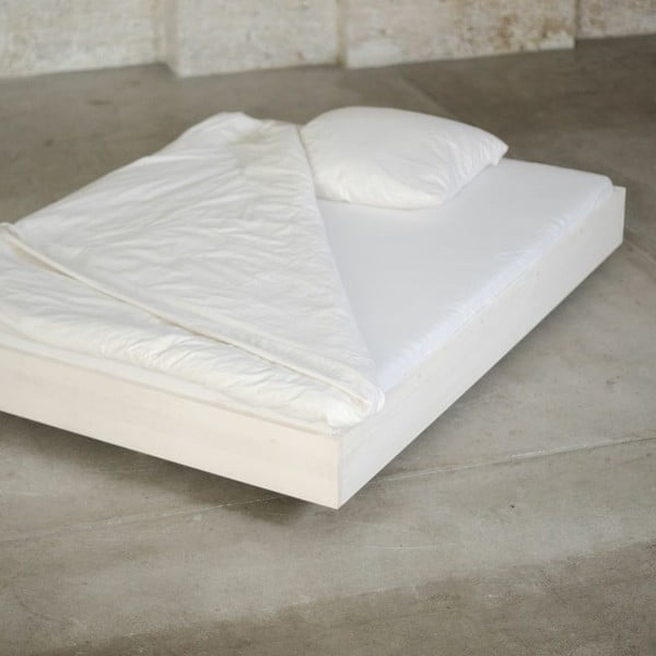 Borovicová posteľ Swebe, 160x200 cm