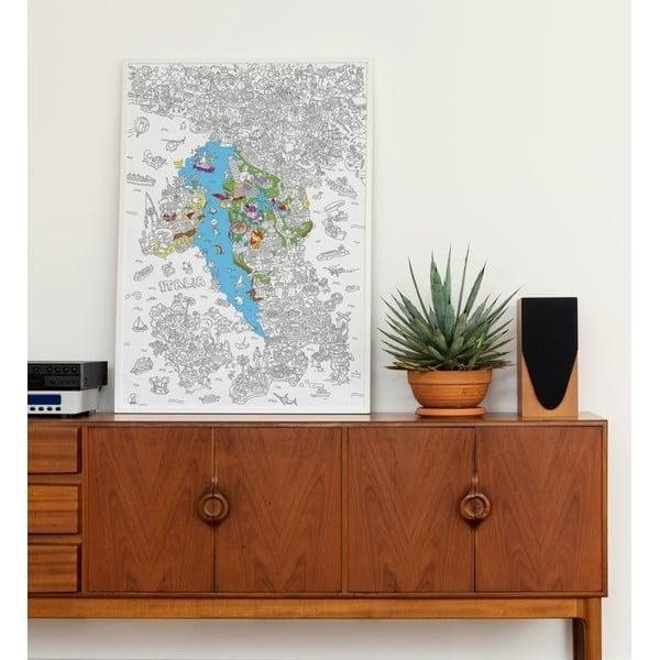 Maľovanka OMY Italia (70 x 100 cm)