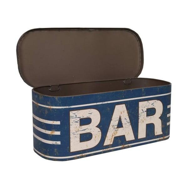 Plechová krabica Bar