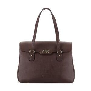 Kožená kabelka Elegance Woman Brown