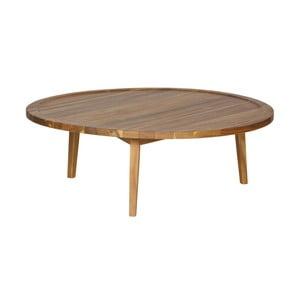 Prírodný konferenčný stolík De Eekhoorn Sprokkeltafel, ⌀ 100 cm