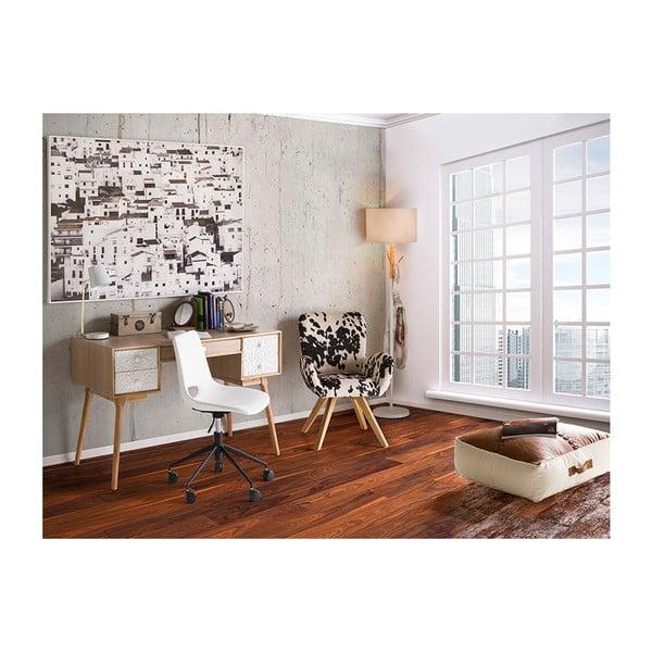 Biela kancelárska stolička Santiago Pons Avedis