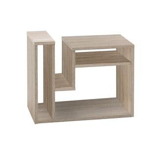 Odkladací stolík v dekore dubového dreva 13Casa Berry