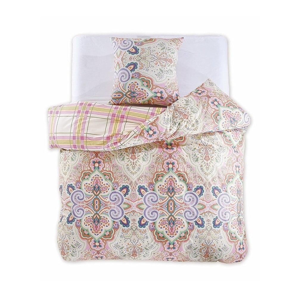 Bavlnené obliečky na dvojlôžko DecoKing Franesco, 200 x 220 cm