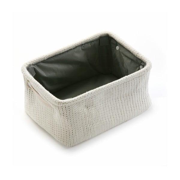 Pletený vlnený košík Cream