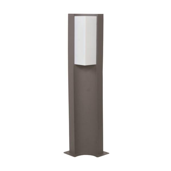 Sivé vonkajšie stojacie svetlo Trio Suez, výška 60 cm