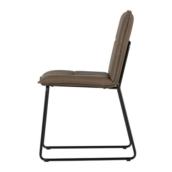 Sada 2 hnedých stoličiek De Eekhoorn Evan