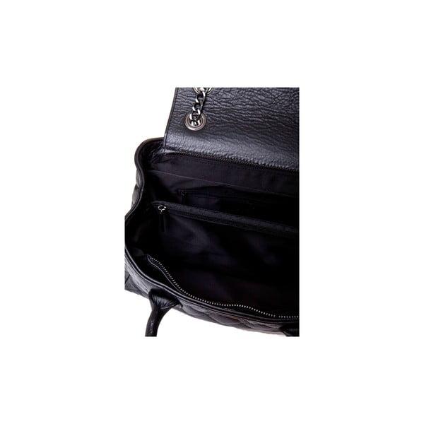 Kožená kabelka Massimo Castelli 7002 Black