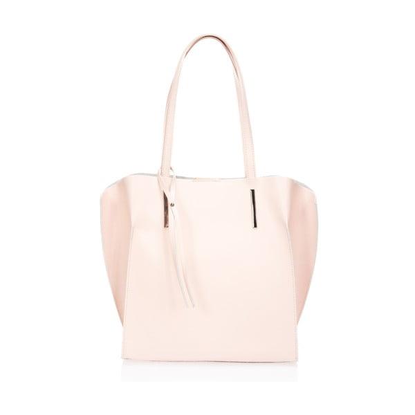 Kožená kabelka Toplenga, ružová