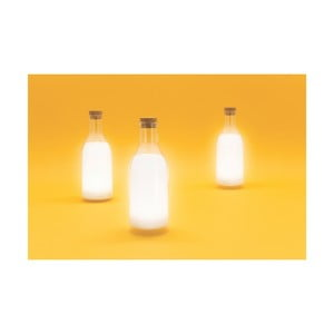 Svetlo v tvare fľaše s mliekom Luckies of London Milk