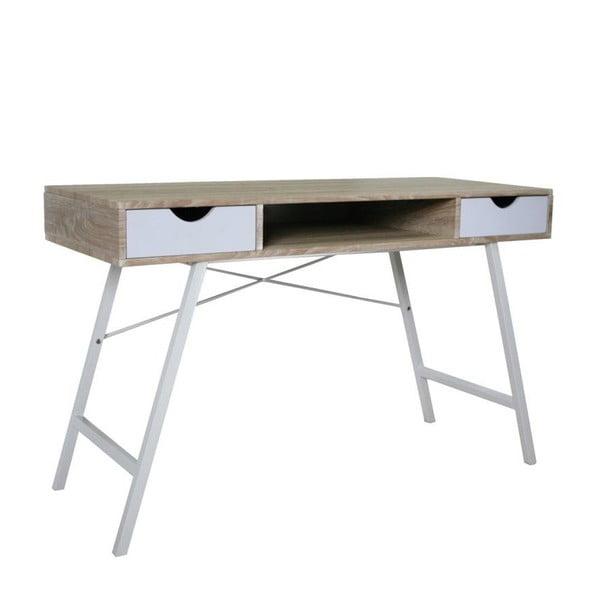 Pracovný stôl B140, biely