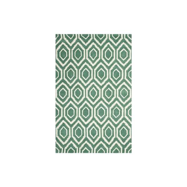 Vlnený koberec Essex 152x243 cm, zelený