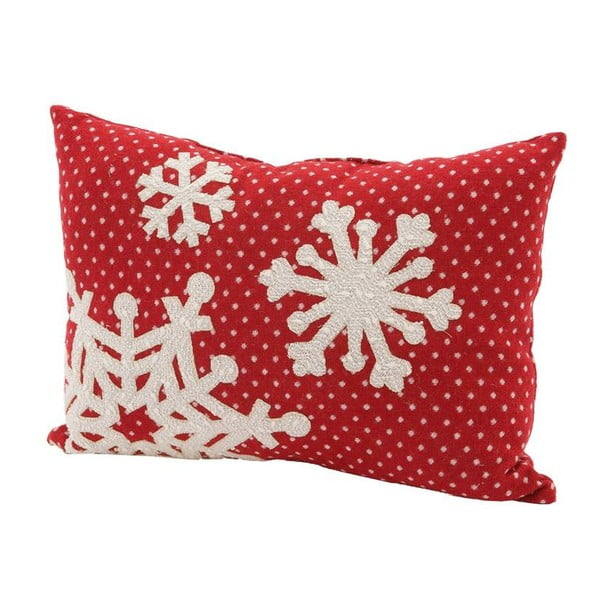 Vankúš Snowflake, 45x33 cm