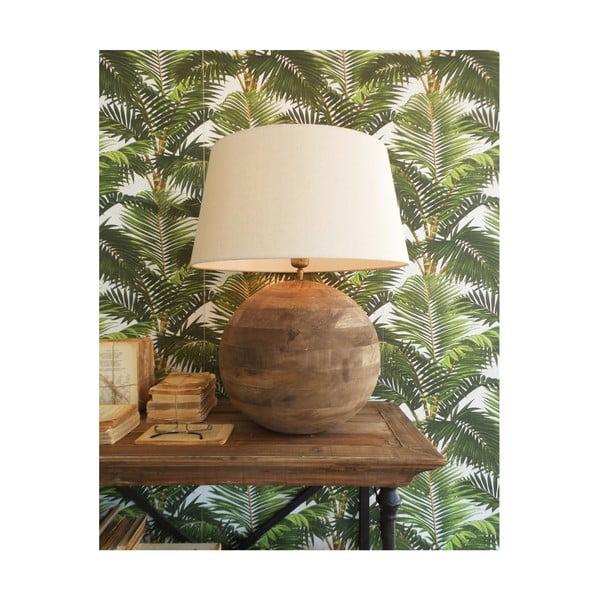 Stolová lampa z mangového dreva Orchidea Milano, výška 63 cm