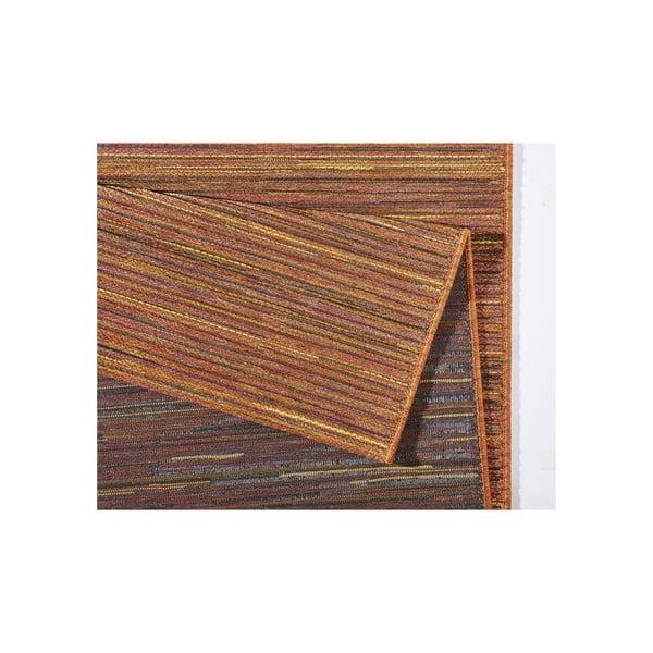 Koberec vhodný do exteriéru Lotus 120x170 cm, oranžový melír